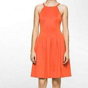 Sleeveless scuba sheath dress Calvin Klein